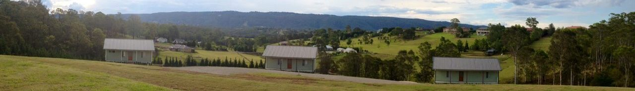 Panorama View of Cottages - Highfields Country Cottages